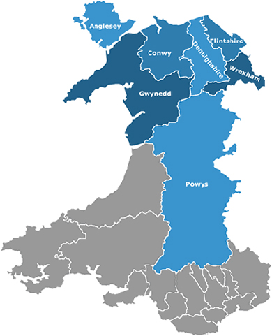 map-north-wales